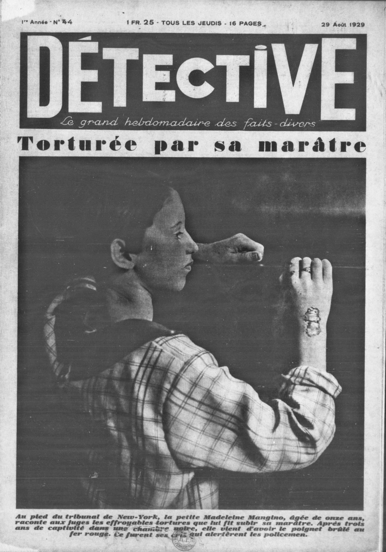 Détective Torturée Pas Sa Marâtre Volume 44 1929