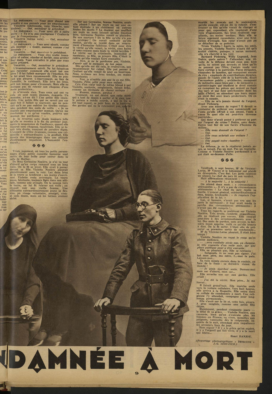 Détective Conée à Mort Volume 312 1934 Page 9