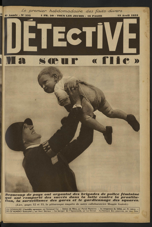 Détective Ma Soeur Flic Volume 233 1933