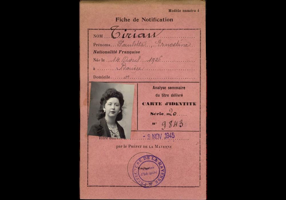 exemple de numéro de carte d identité française Vers la carte d'identité nationale obligatoire | Criminocorpus