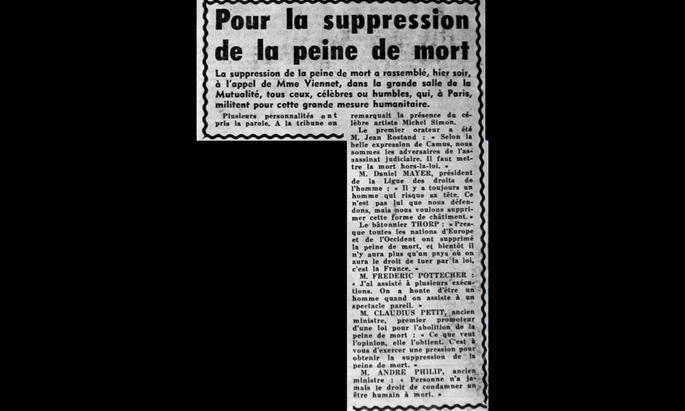 le temps troublé des guerres : de 1914 aux années 1960 | criminocorpus